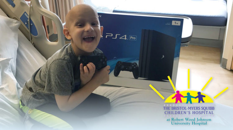 Hugs for Brady Donates 10 Sony PlayStations to BMSCH