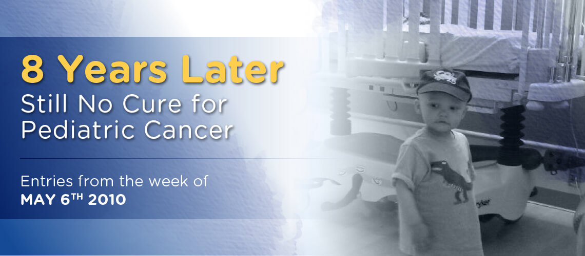 8 Years Later—Still No Cure for Pediatric Cancer – 159